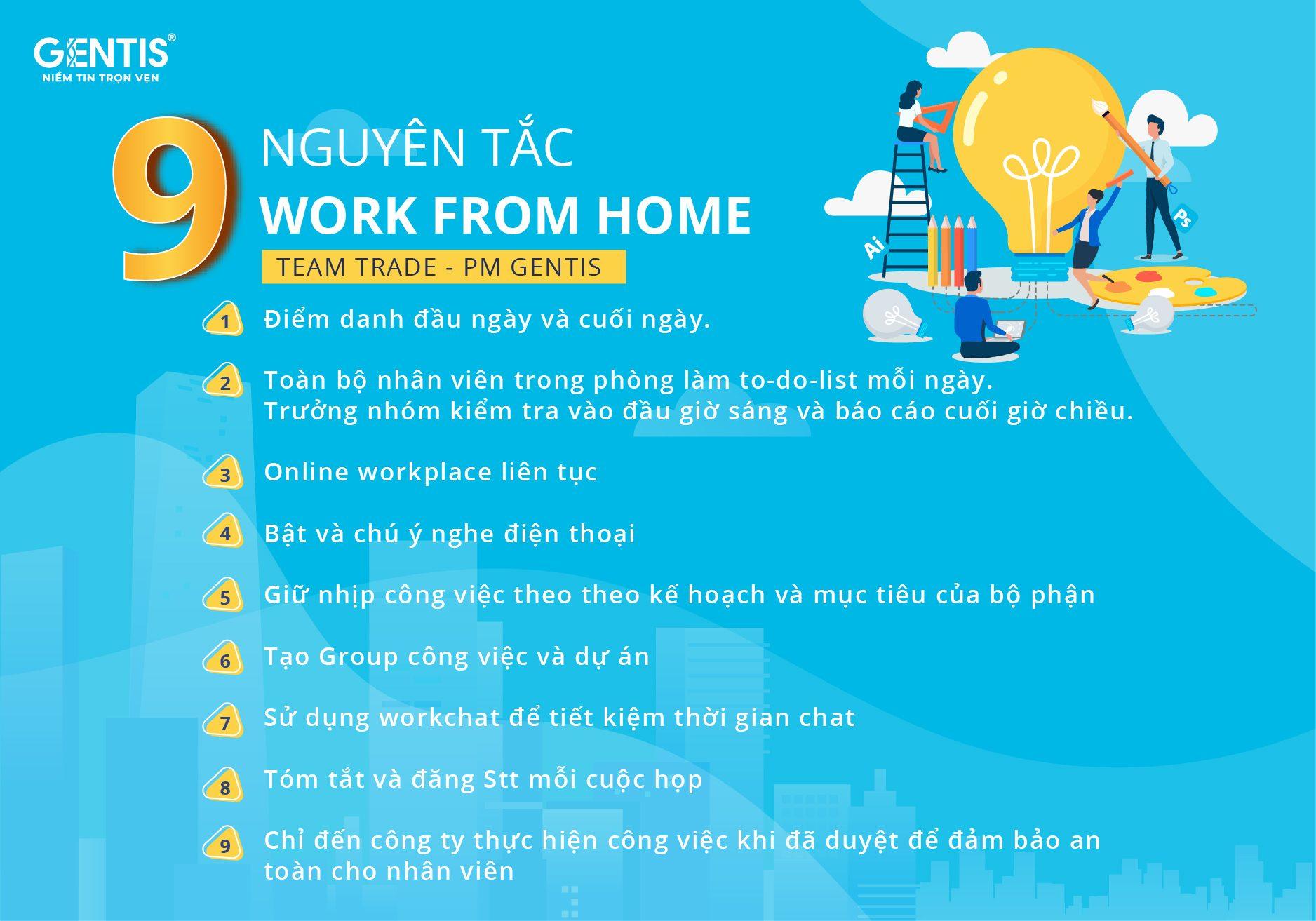 Trải nghiệm ngày đầu tiên về làm việc tại nhà